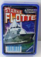 Ravensburger - Starke Flotte Supertrumpf - Kartenspiel