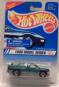 Dodge Ram 1500 Pick Up Truck Camper Top Hot Wheel 1995 Model Series Card Variant