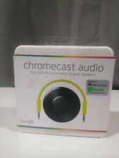 Google Chromecast Audio Media Streamer - Black NEW IN SEALED BOX