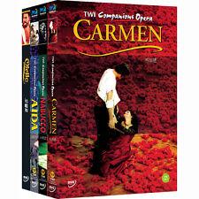 TWI Companion Opera - AIDA+CARMEN+NABUCCO & OTELLO  (4DVD,All,Sealed,New)