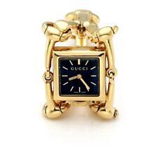 1476b2adbf0 Gucci Vintage 18k YGold Square Fancy Link Ladies Wrist Watch LIQUIDATION!