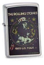 ROLLING STONES ZIPPO Spring 2013 neu+ovp 1969 U.S. TOUR