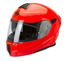 Caschi rossi monocolore per la guida di veicoli Taglia casco 2
