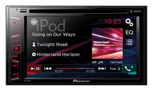 Pioneer AVH-X2800BT  Bluetooth DIVX DVD USB  Multimedia TFT Entertaiment  TOP