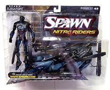 Nitro Riders Flashpoint Action Figure McFarlane Toys Spawn Series 16 New 1999