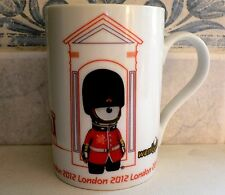 London 2012 Olympic Games Official Product Porcelain Wenlock Queen's Guard Mug