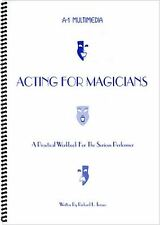 Magic Tricks | Acting for Magicians by Murphy's Manufacturing