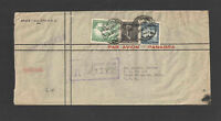 1950 CHILE to USA REGISTERED COVER w/ NICE STAMPS / BACKSTAMPS / CANCELS
