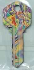 GLASS ARTWORK PRINT KEY BLANKS KW-1