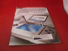 Nintendo Power Volume 187 Nintendo DS Cover w/Attached 2005 DS Calendar Pster B1