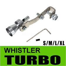Car Turbo Sound Whistle Exhaust Muffler Blow-off Valve Simulator Pipe S M L XL