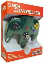 Old Skool Classic Wired Controller Joystick for Nintendo 64 N64 Game System - Green