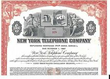 NEW YORK TELEPHONE COMPANY.....MORTGAGE BOND DUE 1997