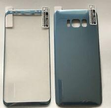 3D PET FULL COVER Samsung S8+ PET Folie Front & Back Panzerfolie Blau