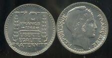 10 francs TURIN  1946  grosse tete  rameaux courts   (  SPL  )  ( bis )