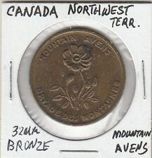 LAM(Z) Token - Canada - NW Territory - Mountain Avens - 32 MM Bronze