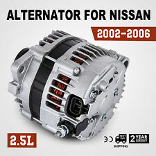 Nice Alternator For 2002 06 Nissan Altima Alternator L4 2.5L 4 Doors Best  (Fits: 2003 Nissan Altima S 2.5L)