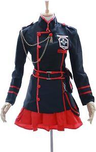 Kawaii-Story MN. 15Lena Lee Lee D. Gray Man Hollow Black Set Uniform Cosplay
