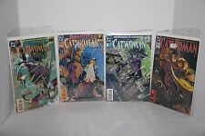 Lot of 4 DC Comics Books CATWOMAN