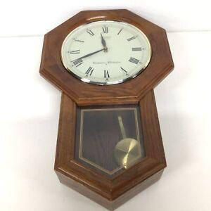 Seiko Quartz Westminster Whittington Wooden Wall Clock #454