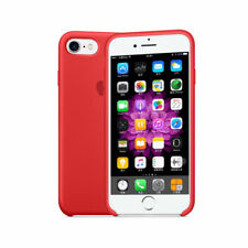 Original Apple iPhone 7 Plus Silicone Case Red ( Brand New with Retail Pack )