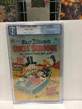 Four Color 386 Pgx 4.5 C/W pages! 'Uncle Scrooge #1 Carl Barks Art!