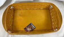 2002 Longaberger Hostess Serve it up Basket with 5 piece tray combo - Nice! (Sb)