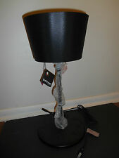 "BoConcept Black Table Lamp 20"" Upside Down Shade Modern Urban Danish"