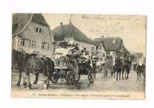 68 CPA ALSACE DEMENAGEMENT DES REFUGIES DE BALCHWILLER 1915