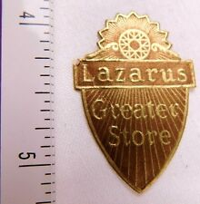1920's-30's Lazarus Department Store Poster Stamp Label Greater Store P31