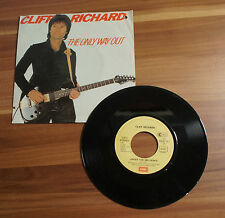 """Single 7"""" Cliff Richard - The Only Way Out 1982 TOP!"""