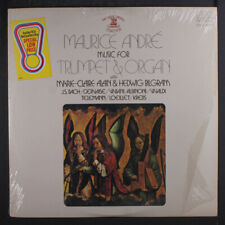 """MAURICE ANDRE, MARIE-CLAIRE ALAIN & HEDWIG BILGR: music for trumpet & organ 12"""""""