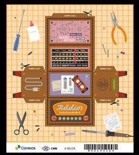 BRAZIL 2018 Old Radio Stamp, PAPER FOLDING, DIY - Make A Radio From This Stamp