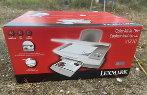 Lexmark X1270 Color All-In-One Inkjet Printer New In Box Copy Print Scan