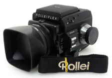 Rolleiflex SL66 SE Camera + Planar 80mm F2.8 HFT Lens. Rollei Filter Hood Strap