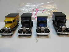MATCHBOX LOT OF 4 LOOSE SUPERFAST MODEL A FORD 1979 MADE IN MACAU / ENGLAND