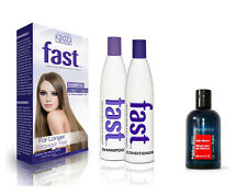 FAST Shampoo Conditioner + Real Pure Moroccan Argan Oil Serum FAST GROWING HAIR