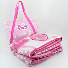 Sanrio Hello Kitty Light Weight Sleepover with Eye Mask 3 Pieces Set Must L@K