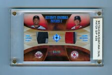 MATSUZAKA & JOHAN SANTANA 2007 ULTIMATE DUAL PATCH RC #/25