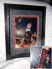 Wilt Chamberlain Autograph Framed & Matted 8X10 Photo
