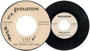 Philippines MIKE QUATRO JAM BAND Life 45 rpm PROMO Record