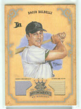 Rocco Baldelli Tamp Bay Rays 2004 Diamond Kings Bat and Jersey