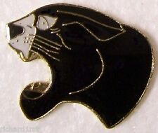 Hat Lapel Pin Scarf Clasp Cat Panther Head NEW large
