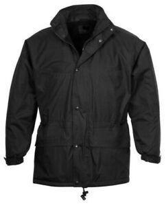 Black Men's Jacket - Winter Warm