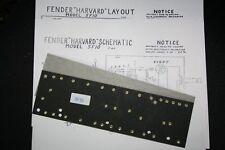 Fender style Harvard 5F10 circuit board brass eyelets NEW
