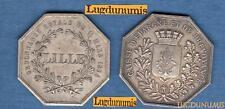 Caisse D'Epargne et de Prevoyance Lille Ordonnance 11 Mars 1854 / Jeton Argent