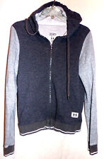 UNDER ARMOUR WOMENS LEGACY FULL ZIP HOODIE HOODED JACKET IN GRAY SIZE-SMALL