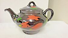 Older Canadian Art Pottery Hamilton, Canada, Royal Dripless Teapot-HP Floral