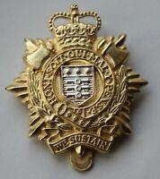 British Army, Royal Logistics Corps Cap Badge. London Badge & Button Co Ltd. (C)