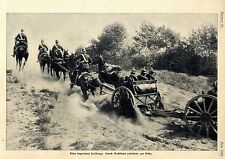 Unsere Feldartillerie Histor.Foto-Report mit Aufnahmen von 1906